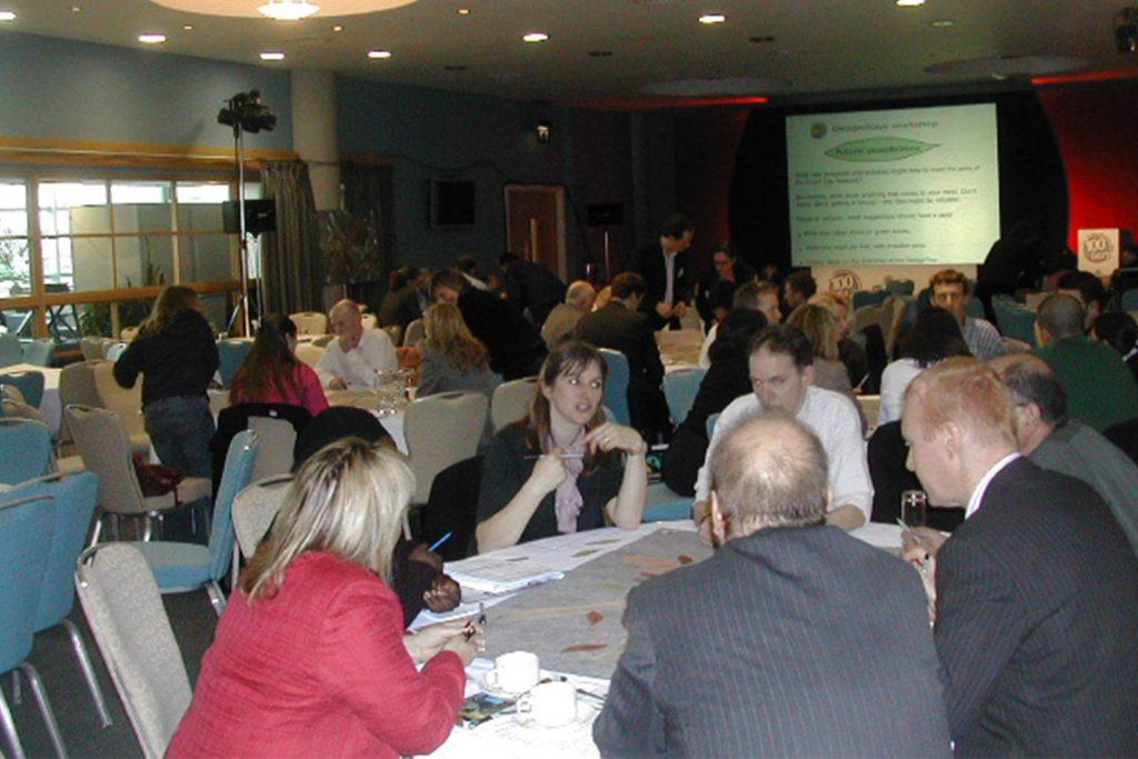 2006 – Ketso manages large workshop